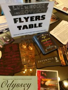 flyers table